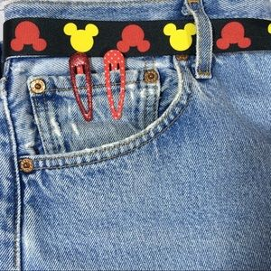 Levi's Jeans - Custom Levi's Button fly 501 Mickey Mouse jeans